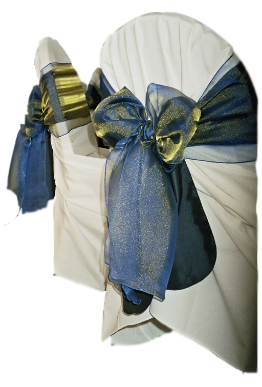 photo blue gold sash