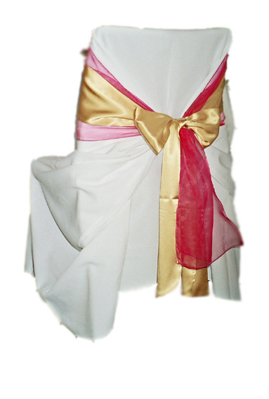 photo pink, gold, red sash